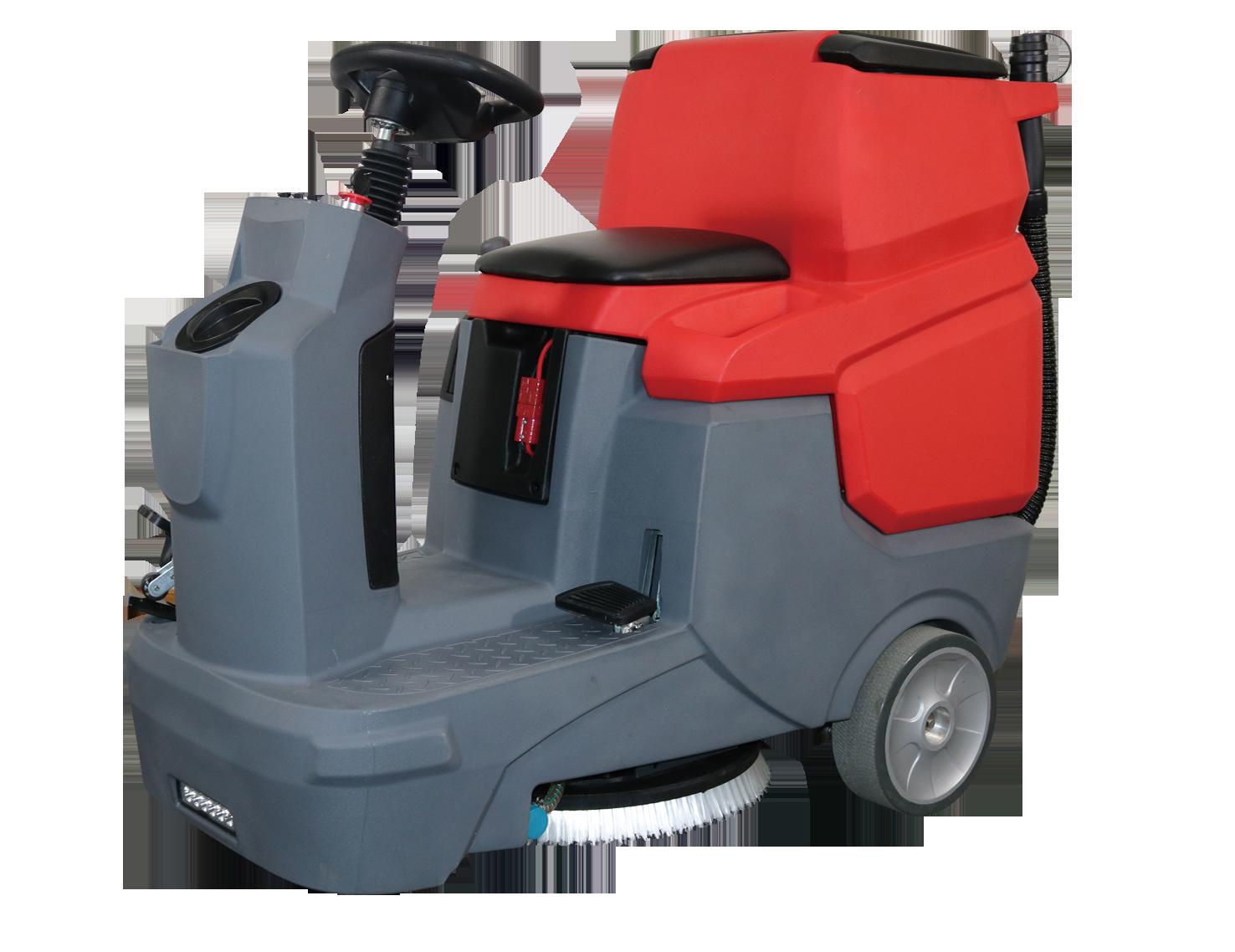 XD580驾驶式洗地机